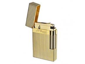 Zapalovač S.T. DuPont Ligne 2 plate care, zlatý