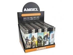 Zapalovač Angel Piezo Moto