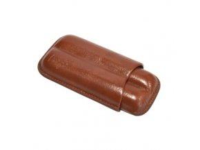 Etue na 2 doutníky Browib, hnědá, 12 cm