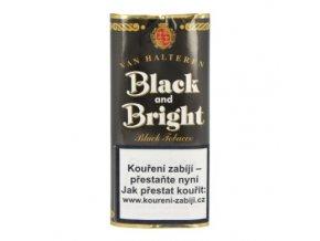 Dýmkový tabák Black and Bright, 50g