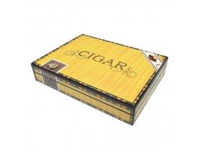 Humidor na doutníky Cigarus, stolní