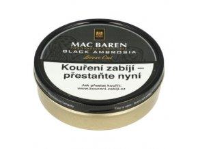 Dýmkový tabák Mac Baren Black Ambrosia, 100g