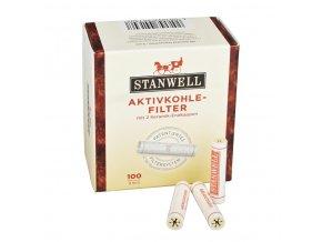 Filtr do dýmky, Stanwell, 100ks, 9mm