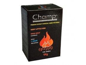 Uhlíky do vodní dýmky Champ, kokosové, 1kg