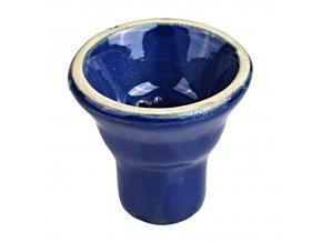 Náhradní korunka pro vodní dýmku, 20mm, modrá