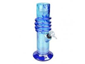Bong sklo Dremrio Spin blue, 22 cm