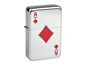 Benzínový zapalovač Angel Poker