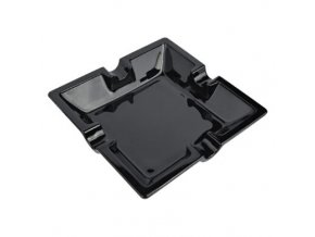 Doutníkový popelník Ubero, keramický černý,