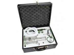 Vodní dýmka DUD Firestarter Green set 43cm, perkolace