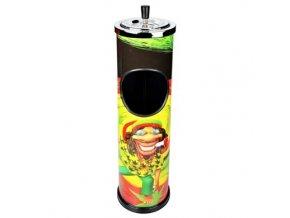 Venkovní popelník - odpadkový koš Ciruo, 60cm