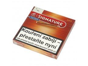 Doutníky Café Creme Filter Red, 10ks