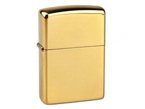 Zapalovač Zippo Solid Brass Polished, leštěný