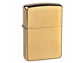 Zapalovač Zippo Solid Brass, broušený