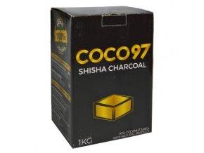 Uhlíky do vodní dýmky DUD Coco 97, kokosové, 1kg