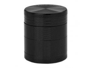 Drtič tabáku kovový Champ High ALU, 40mm, černý