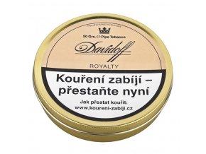 Dýmkový tabák Davidoff Royalty Mixture, 50g