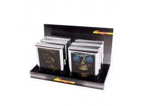 Cigaretové pouzdro Skull, 18cig.