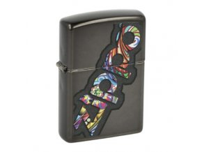 Zapalovač Zippo Colorful Design, lesklý