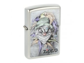 Zapalovač Zippo Joker, broušený