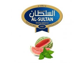 Tabák do vodní dýmky Al-Sultan Watermelon+Mint (84), 50g/Z