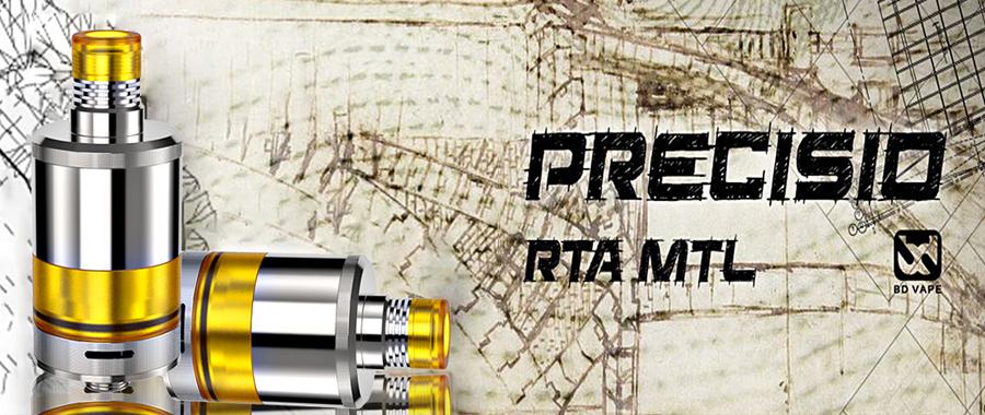 BD vape Precisio MTL Pure RTA