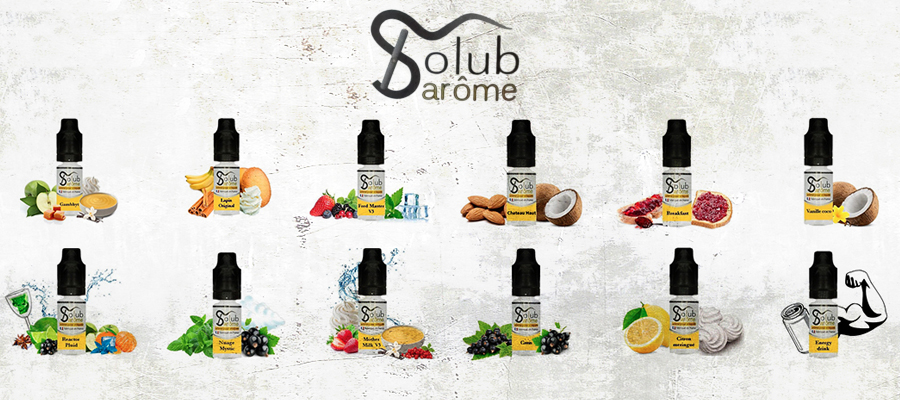 Příchuti Solubarome 10 ml
