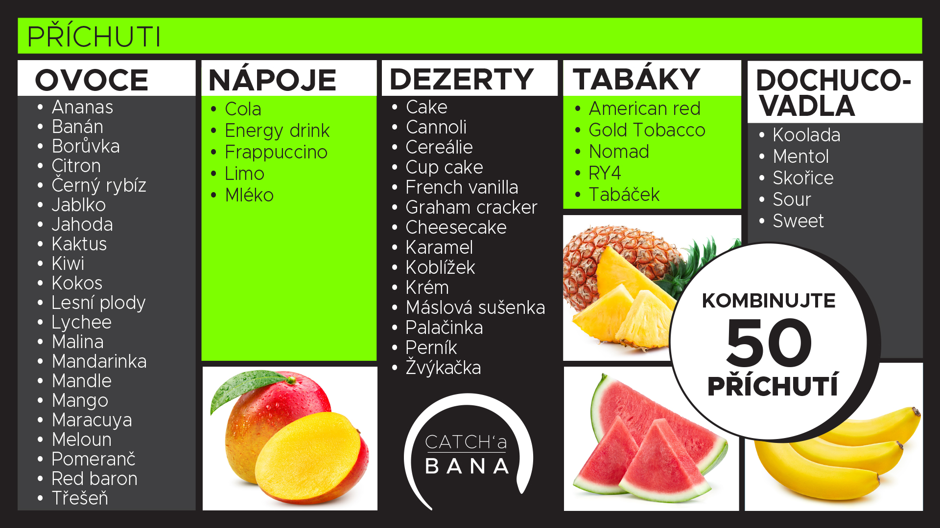 CATCHa_BANA_BAR_menu