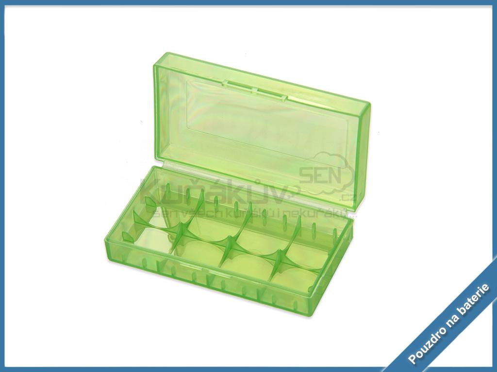 krabicka pouzdro baterie 18650 1