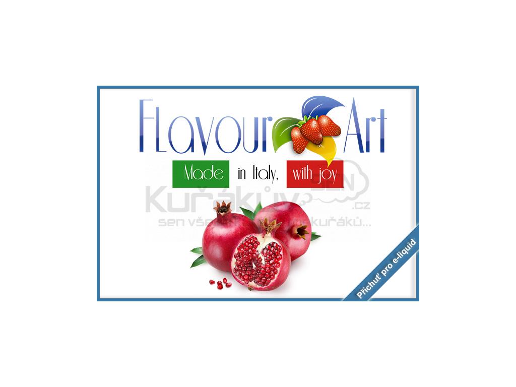 flavourArt granatove jablko