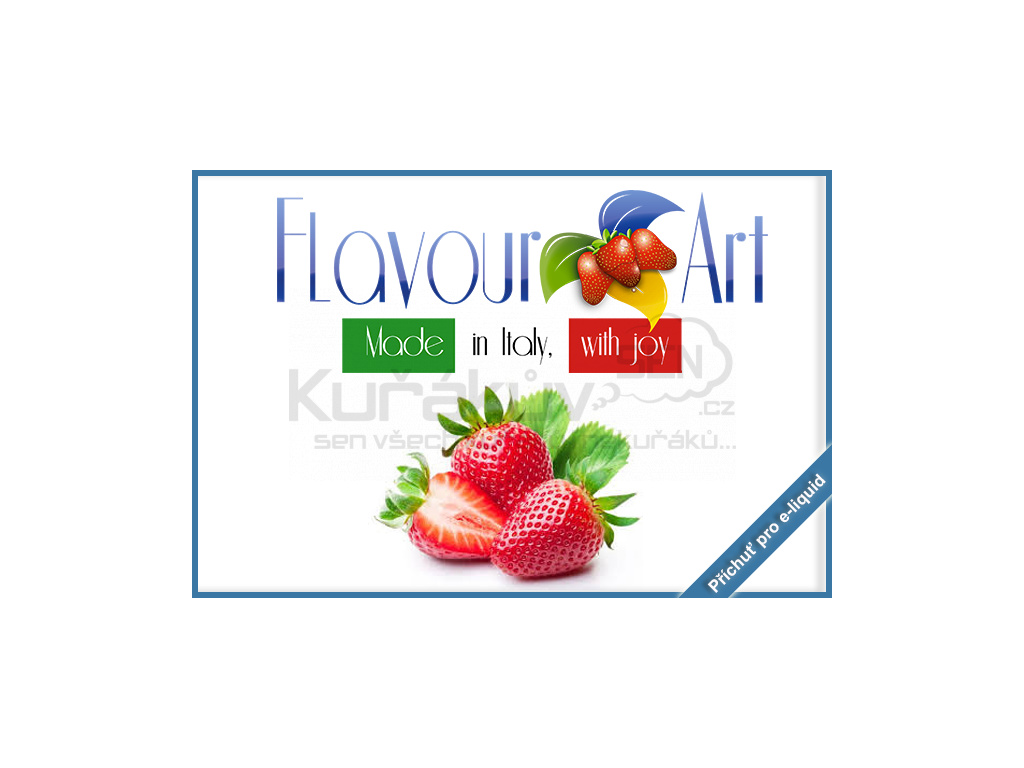flavourArt jahoda