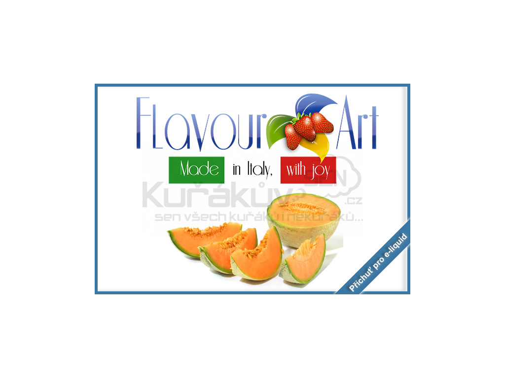 flavourArt ananasovy meloun