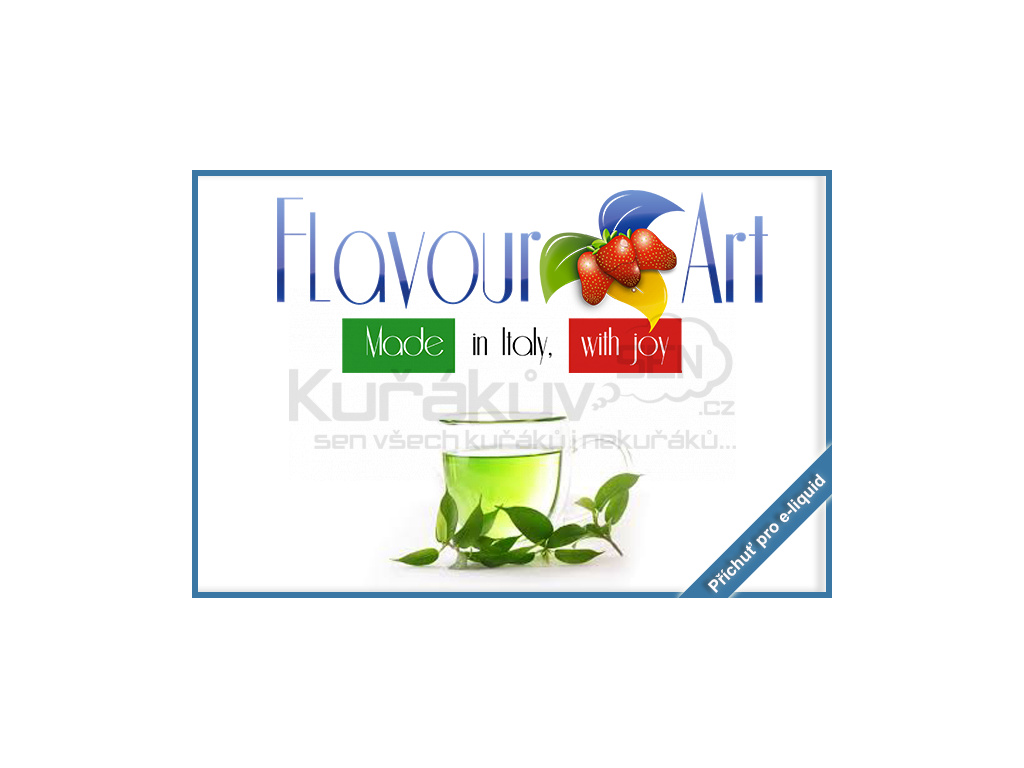 flavourArt zeleny caj