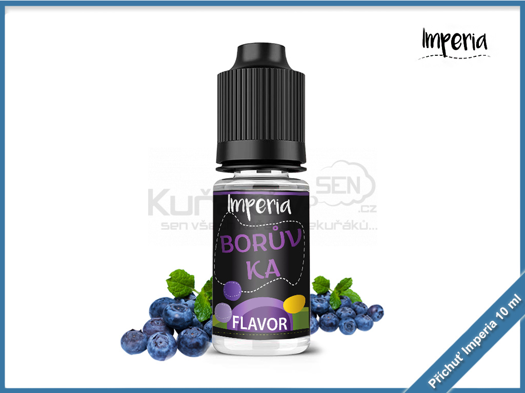 boruvka imperia black label 10ml