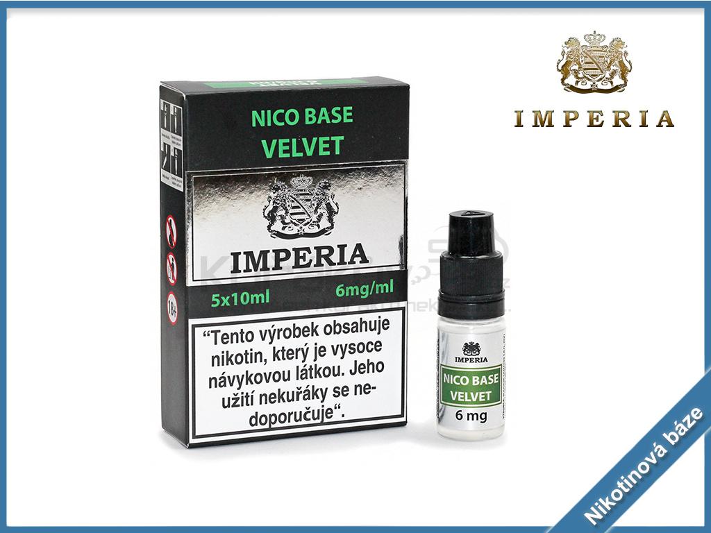 nikotinova baze imperia velvet 6mg
