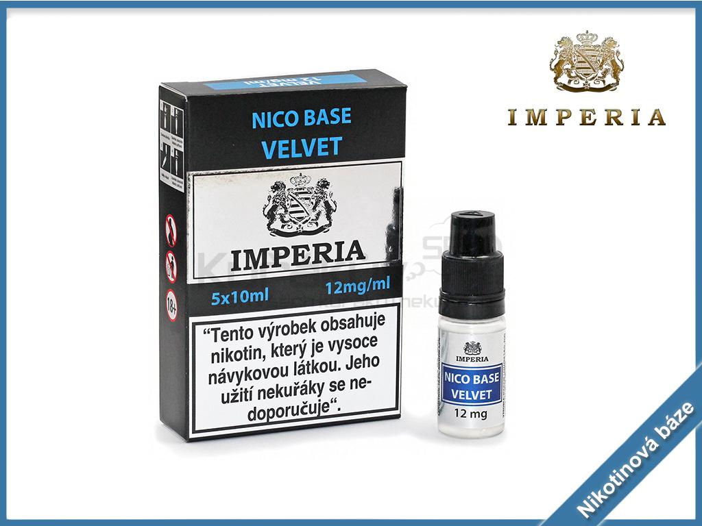 nikotinova baze imperia velvet 12mg