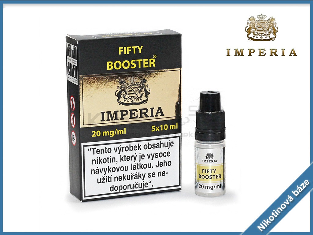 nikotinova baze imperia fifty booster 20mg