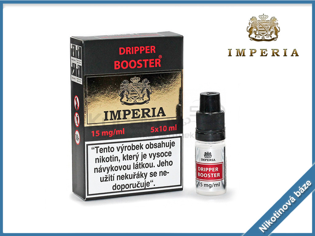 nikotinova baze imperia dripper booster 15mg