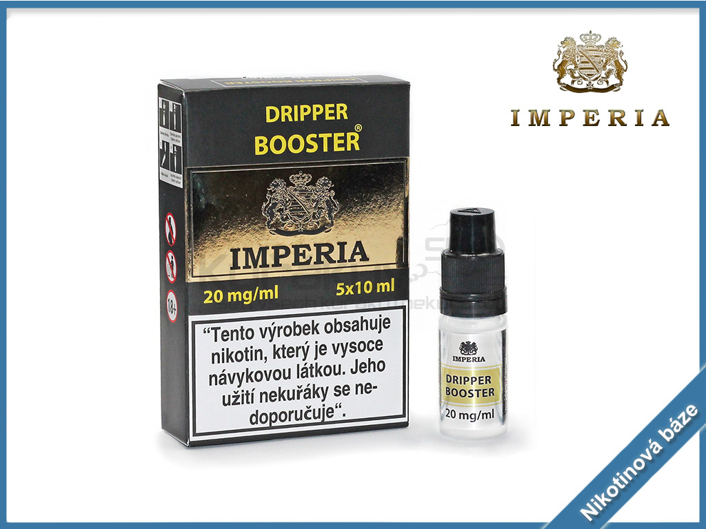nikotinova baze imperia dripper booster 20mg