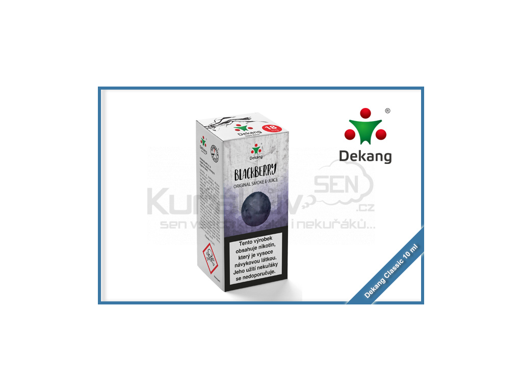 dekang classic 10ml blackberry