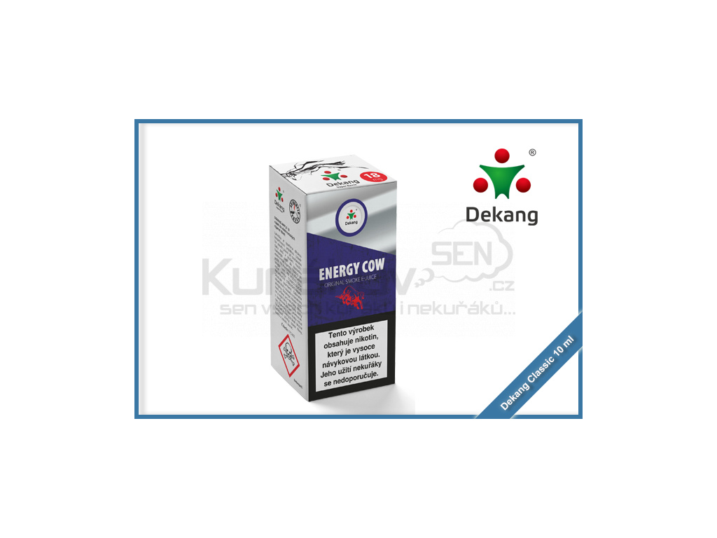 dekang classic 10ml energy cow