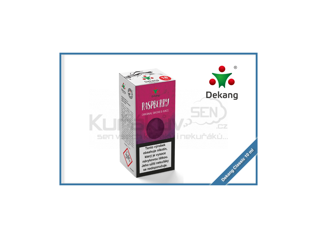dekang classic 10ml raspberry