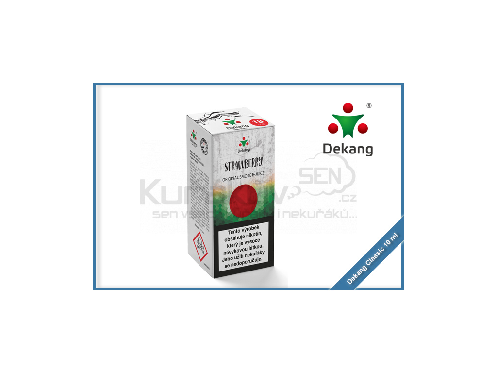 dekang classic 10ml strawberry