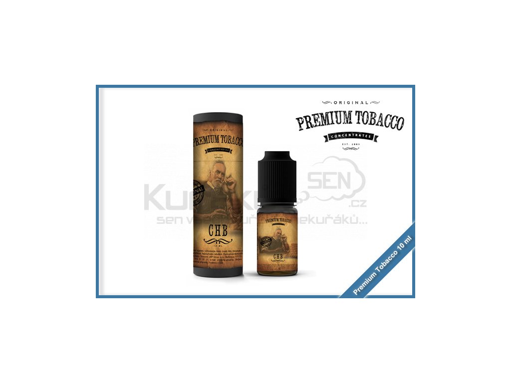 chb premium tobacco 10ml
