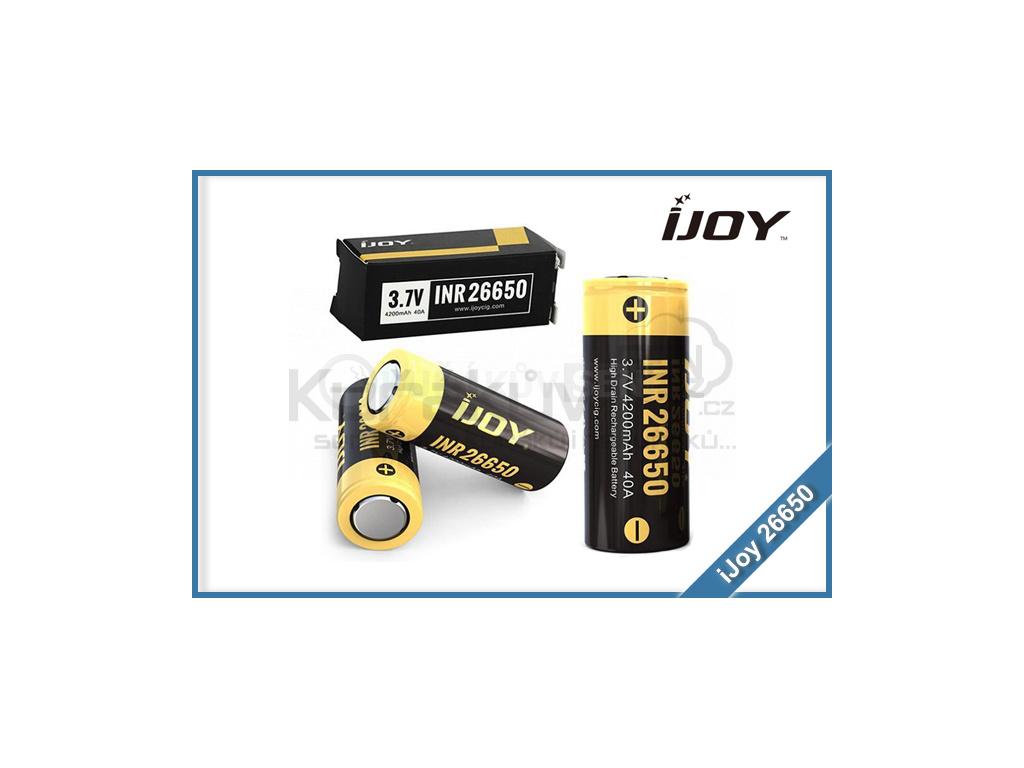 baterie ijoy 26650 4200mah 40a