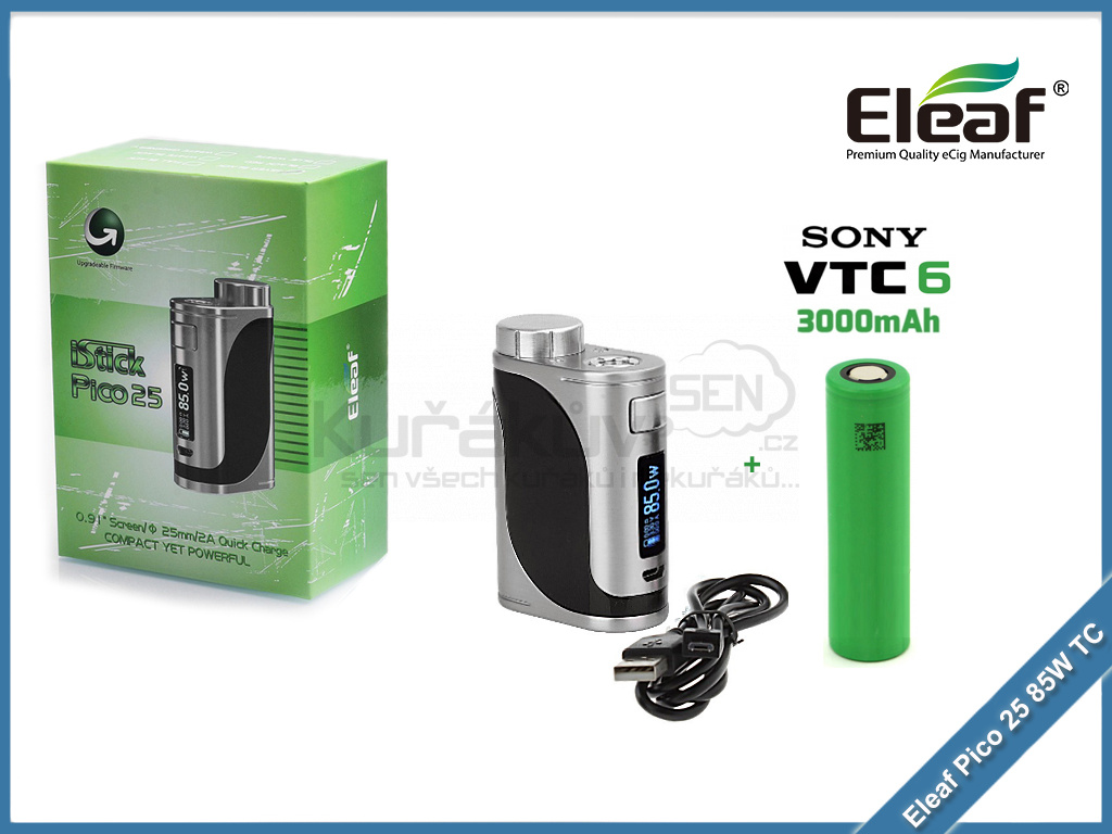 eleaf pico 25 baterie lg hg2 color