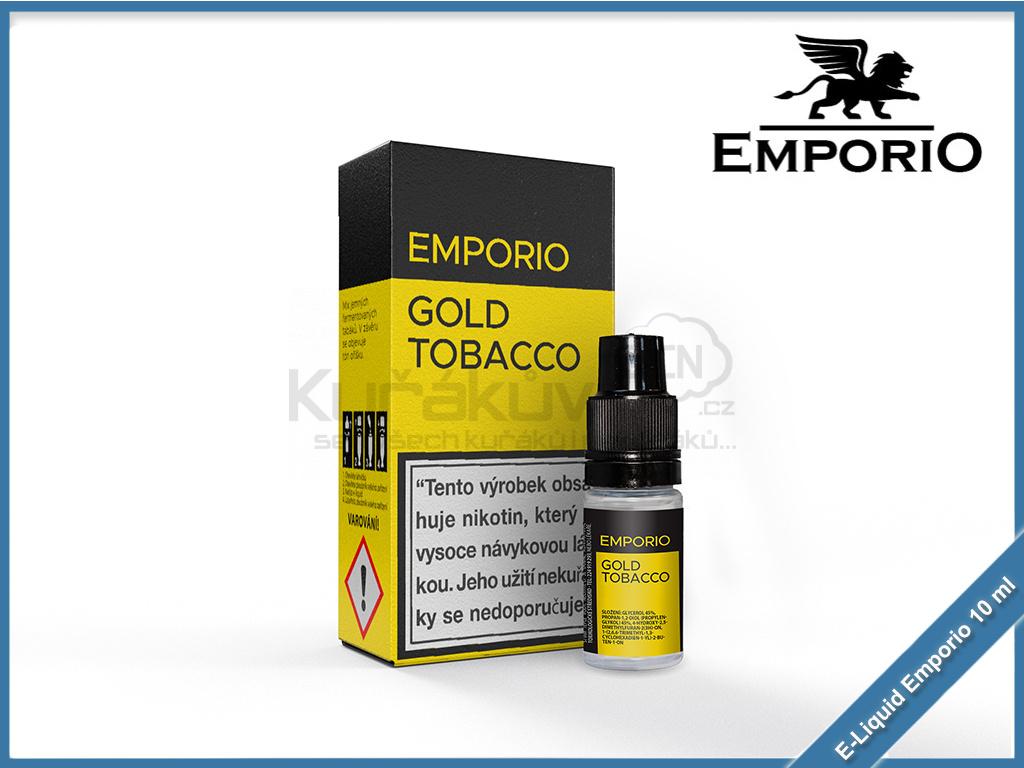 gold tobacco emporio 10ml