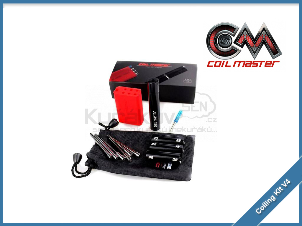 coilmaster v4 6 in 1 coiling kit
