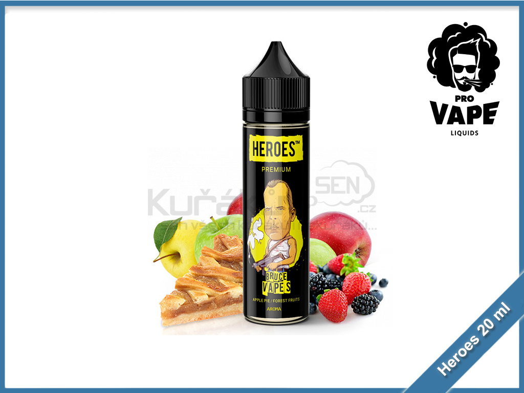 Bruce Vapes heroes provape 20ml