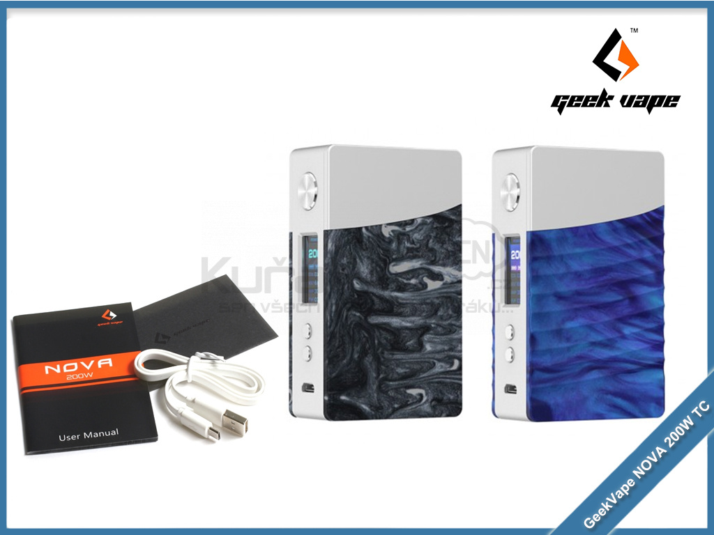 geekvape nova 200W tc color