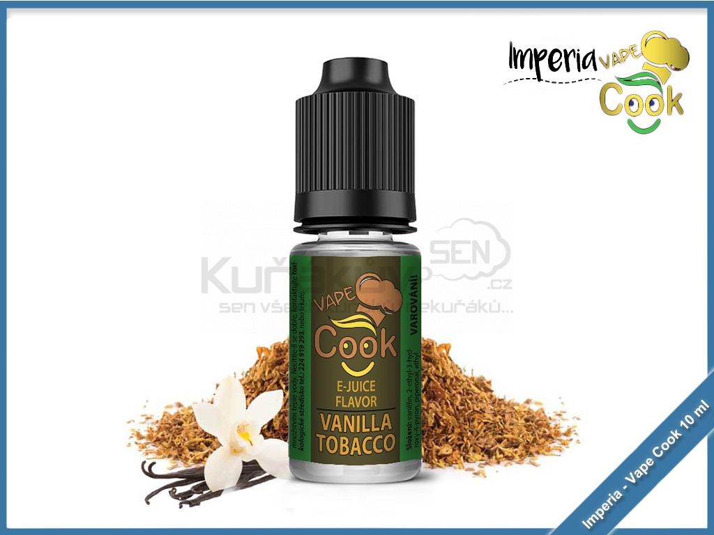 prichut Imperia VapeCook 10ml Vanilla Tobacco 1